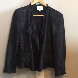 Loft suit jacket in tweed